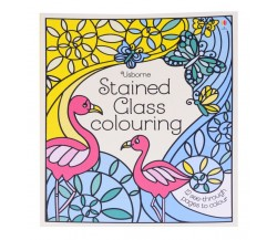 Usborne - Stained glass colouring