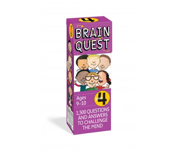 Brain Quest Grade 4, revised 4th edition