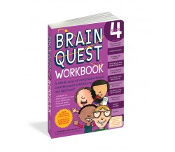 Brain Quest Workbook: Grade 4 (ages 9-10)