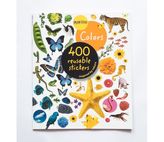 Eyelike Stickers: Colors - 400 Reusable Stickers