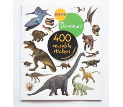 Eyelike Stickers: Dinosaurs - 400 Reusable Stickers