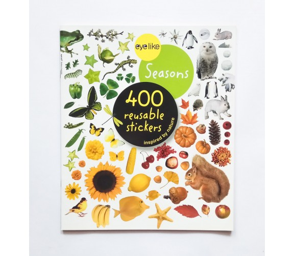 Eyelike Stickers: Seasons - 400 Reusable Stickers