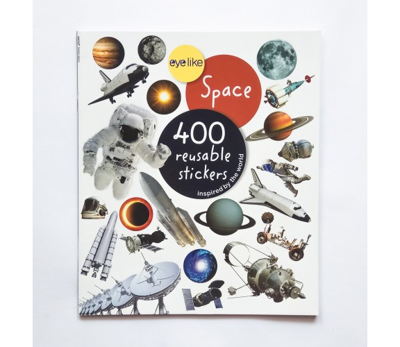 Eyelike Stickers: Space - 400 Reusable Stickers