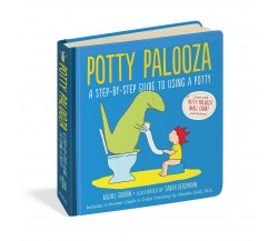 Potty Palooza - A Step-by-Step Guide to Using a Potty - Board Book