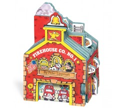 Mini House: Firehouse Co. No. 1 - Board Book