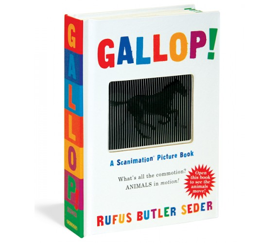 Gallop! : A Scanimation Picture Book