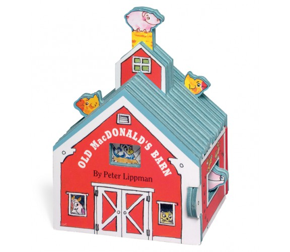 Mini House: Old MacDonald's Barn - Board Book