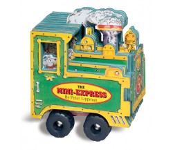 Mini Wheels: The Mini-Express - Board Book